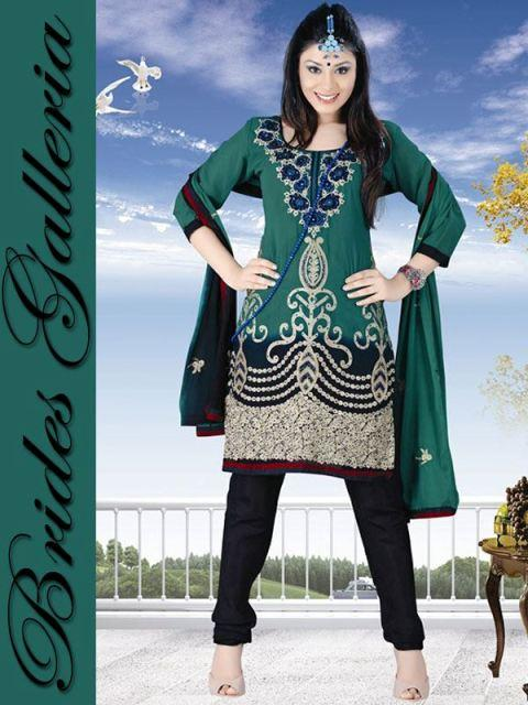 Winter Printed Shalwar Kameez Collection 2013 By Brides Galleria 001