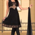 Latest Anarkali Black Dresses Designs For Women (1)