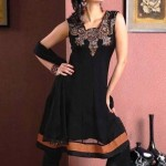 Latest Anarkali Black Dresses Designs For Women (5)