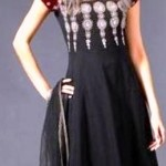 Latest Anarkali Black Dresses Designs For Women (7)