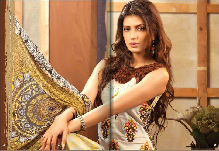 Beautiful Lawn Prints Firdous Carnival