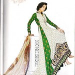 Embroidered Border Suit By Asim jofa lawn