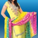 Fancy Dress with patiala shalwar