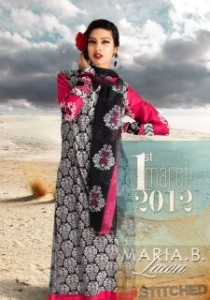 MARIA.B. Lawn Collection 2012 in Damask inspired print