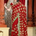 Red-Saree