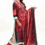 Red color lawn collection