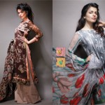 chic chiffon Alkaram Summer dresses collection 2012-2013