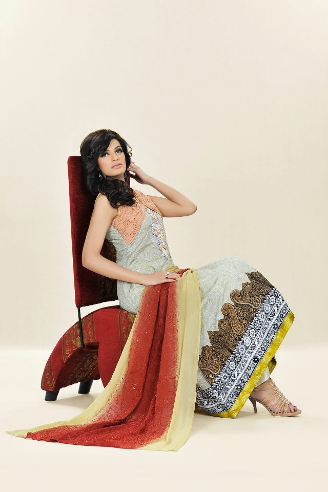 Beautiful lawn dress By sadia