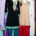 Stylish Dresses For Women By Farahas Collection 2012