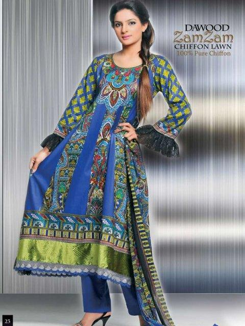 dawood summer zam zam lawn collection