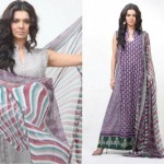 latest deepak perwani lawn collection 2012