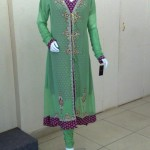 stylish chiffon party wear dresses 2012 For Women