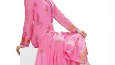A-Line Shirts with Churidar Pajama dress by Taana Baana