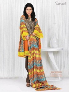 Bareeze summer lawn collection 2012