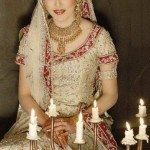 Bridal Dress with jewellery in Pakistan