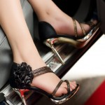Bridal Sandals Flat Footwear for Summer By Metro Shoes 2012