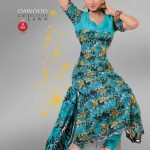 Dawood Lawn Dress Collection 2012 for girls