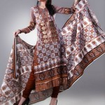 EIZA LAWN BY UA Textile with churidar pajama