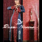 Evening Trendy Party Wear embroidered dresses 2012 by Rizwan Moazzam