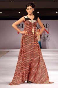 Islamabad Fashion Week 2012 Lakhani dresses