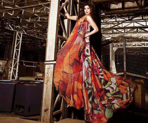 Latest Fashion dresses for girls 2012 by Hina Butt