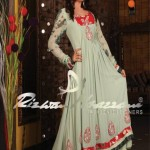 Latest Party Wear embroidered dresses by Rizwan Moazzam