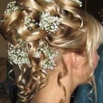 Latest haie style for golden hair