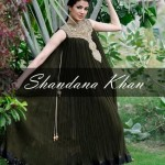Latest party wear dresses for girls by shandana khan