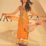 Lawn Prints Exhbition summer luxury collection 2012-13 By Vaneeza V