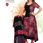 Long shirt dress Collection 2012 By Dawood lawn