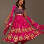 Pakistani Frock  Dresses 2012
