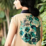 Pakistani embroidered lawn collection 2012