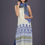 Party Wear Lawn Dress By HSY Designer
