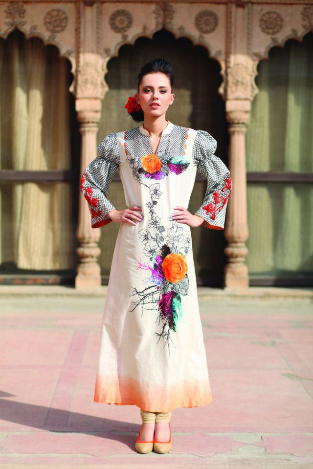 Party wear Dress by Pareesa Lawn