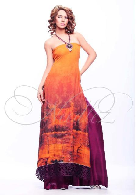 Shalimar Spring Summer Dress 2012
