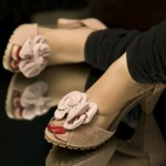 Women Sandals Flat Footwear for Summer By Metro Shoes 2012