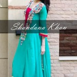 party wear dresses 2012-2013 by shandana khan