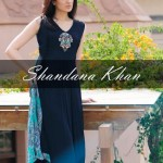 party wear dresses by shandana khan