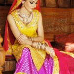 2012 Bridal Wear Collection of SamanZar by Shaiyanne