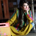 Actor model Ahsan Khan Brand Casual wear or Formal dresses collection for Women