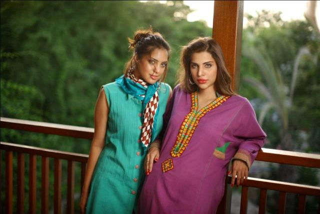 Bonanza satrangi evening and party wear summer dresses 2012