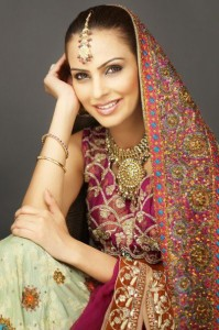 Bridal Wear Collection 2012 of SamanZar by Shaiyanne
