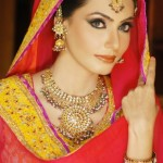 Bridal Wear Mehndi dresses Collection 2012 of SamanZar by Shaiyannexz