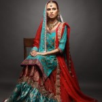 Bridal Wear Style 2012 of SamanZar by Shaiyanne
