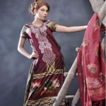 Eiza Lawn Zardozi Prints 2012-13 summer collection