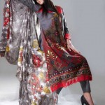 Eiza Lawn by UA Textile Zardozi Prints 2012-13 glamorous collection