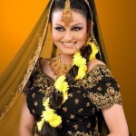 Javeria Abbasi bridal Hairstyle for wedding