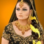 Javeria Abbasi jewelry and hairstyle Shoot