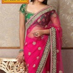 Meena Bazaar Bridal Saree Collection 2012 with Actress Kritika Kamra