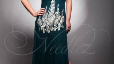 Needlez by Shalimar summer party wear dress 2012-2013
